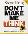 Don't make me think hors collection by Krug Steve