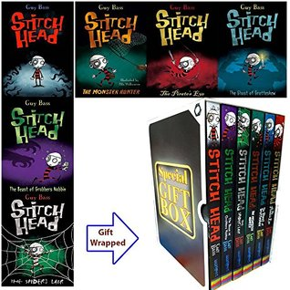 Stitch Head Collection 6 Books Bundle Gift Wrapped Slipcase Specially For You
