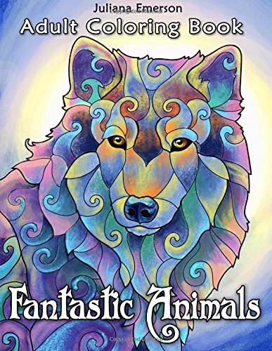 Fantastic Animals Adult Coloring Book