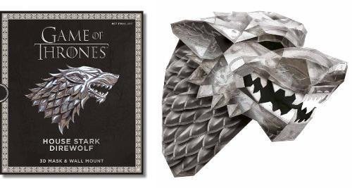 Game of Thrones Mask: The House Stark Direwolf