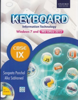 Keyboard Information Technology Windows 7 And Ms Office 2013 Cbse Class-9