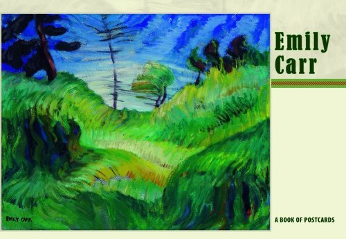 Emily Carr Postcard Book