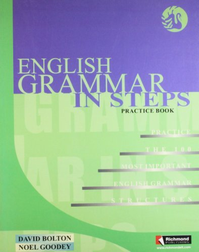 English Grammar in Steps Practice Book
