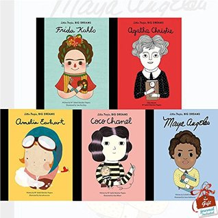 Little People, Big Dreams Collection 5 Books Bundle With Gift Journal