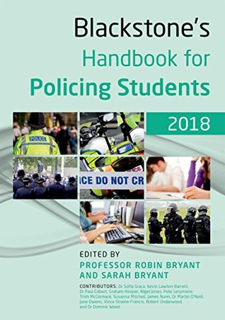 Blackstone's Handbook for Policing Students 2018