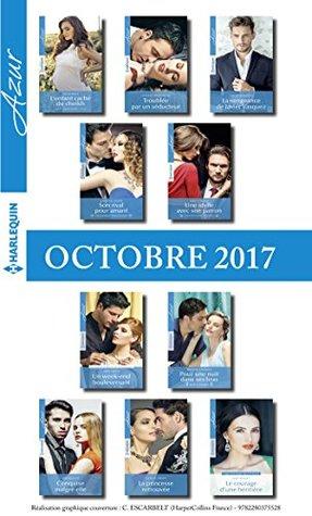 10 romans Azur (nº3875 à 3884-Octobre 2017)