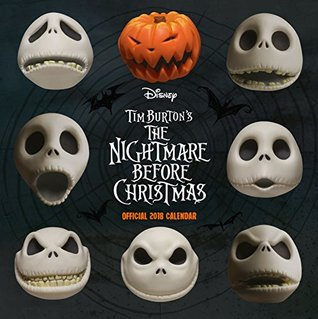 Nightmare Before Christmas Official 2018 Calendar - Square Wall Format Calendar (Calendar 2018) by Walt Disney Company