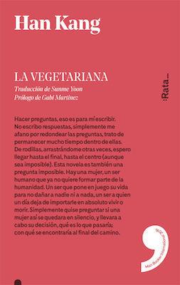 La vegetariana by Han Kang