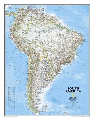 South America Classic [Enlarged and Tubed]