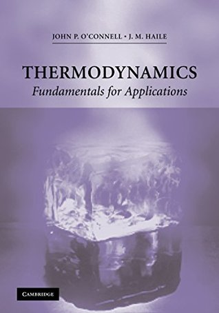 Thermodynamics: Fundamentals for Applications (Cambridge Series in Chemical Engineering)