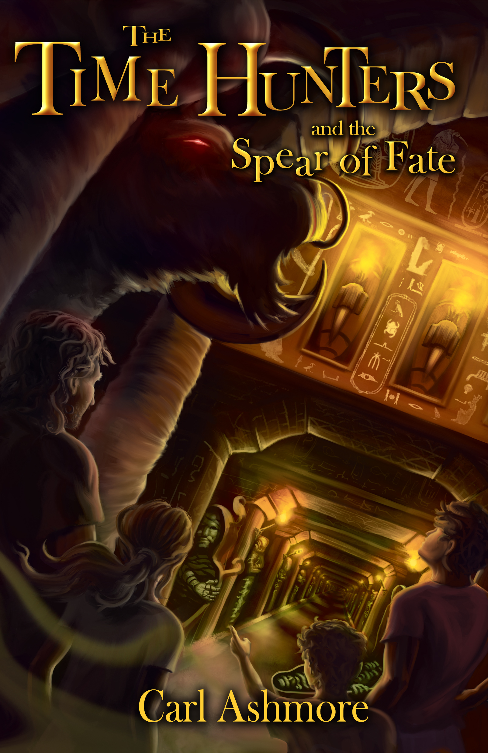 The Time Hunters and the Spear of Fate (Time Hunters, #3)