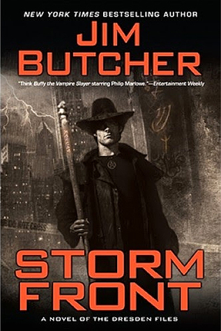 Jim Butcher: The Dresden Files series