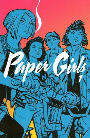 Image result for paper girls vol 1