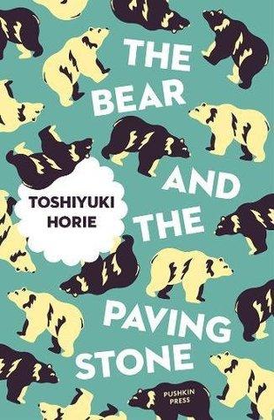 book cover shows a polar bear pattern.