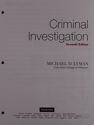 Criminal Investigation: The Art and the Science, Student Value Edition Plus MyCJLab with Pearson eText -- Access Card Package (7th Edition)