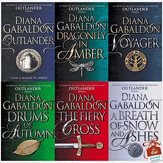 Outlander Series Diana Gabaldon Collection (1-6) 6 Books Bundle Collection With Gift Journal (Outlander, Dragonfly In Amber, Voyager, Drums Of Autumn, The Fiery Cross, A Breath Of Snow And Ashes)