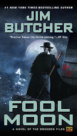 Fool Moon by Jim Butcher (Dresden Files #2) cover