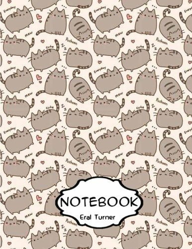 "Notebook Journal: Pusheen: Pocket Notebook Journal Diary, 120 Pages, 8.5"" X 11"" (Dot-Grid, Graph, Lined, Blank Notebook Journal)"