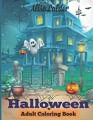 Halloween Coloring Book: Halloween Adult Coloring Book