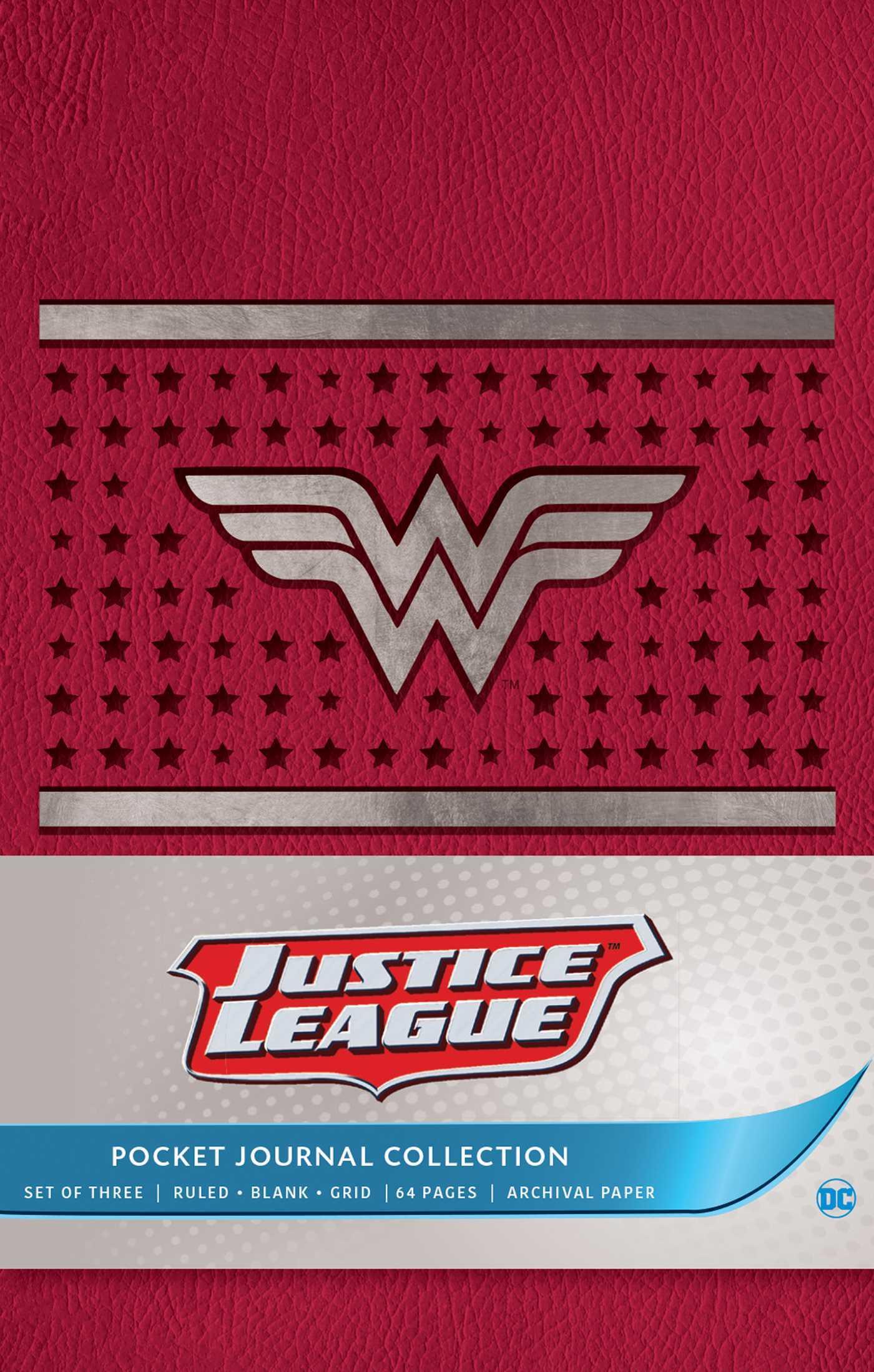 DC Comics: Justice League Pocket Journal Collection (Set of 3)