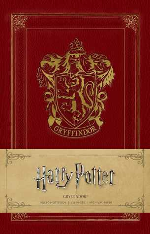 Harry Potter: Gryffindor Ruled Notebook por Anonymous