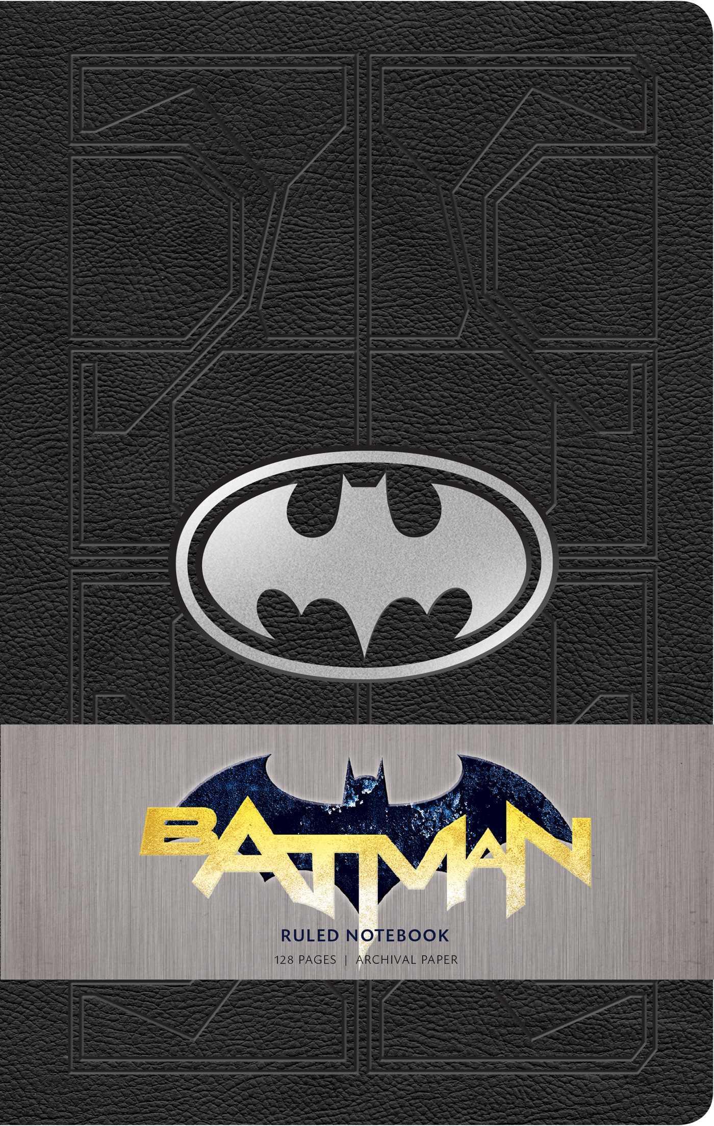 DC Comics: Batman Ruled Notebook