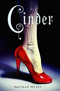 Cinder cover (link to Goodreads)