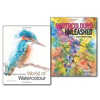 Watercolours Unleashed 2 Books Collection Set,
