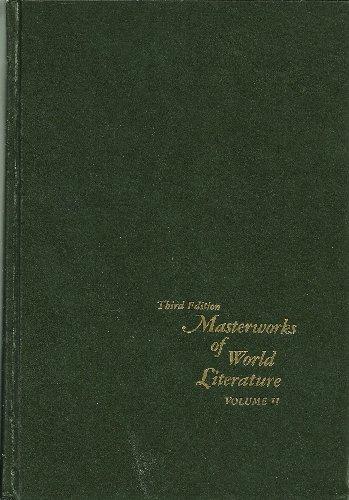 Masterworks of World Literature: Shakespeare to Sartre