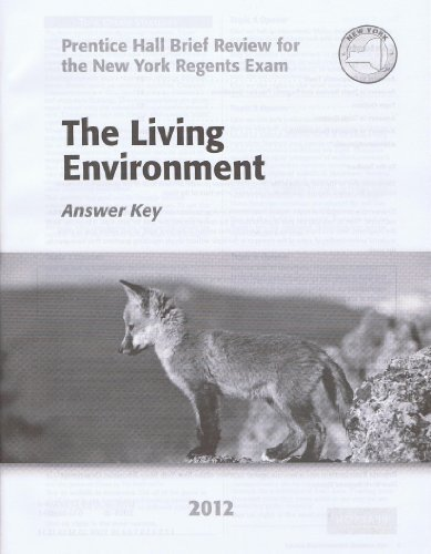 The Living Environment 2012 Answer Key