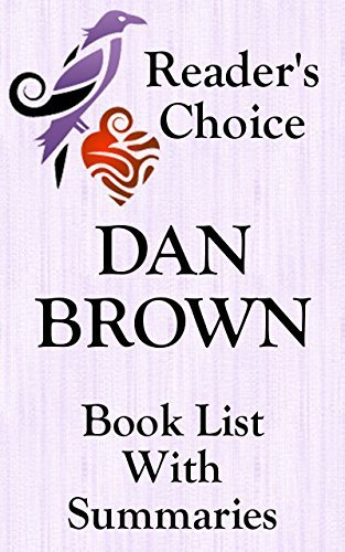 DAN BROWN BOOKS CHECKLIST IN SERIES ORDER WITH SUMMARIES - UPDATED 2017: SUMMARIES, CHECKLIST AND ORDERING LINKS FOR ALL DAN BROWN NOVELS INCLUDING HIS ... RELEASE (BOOK LIST WITH SUMMARIES 29)