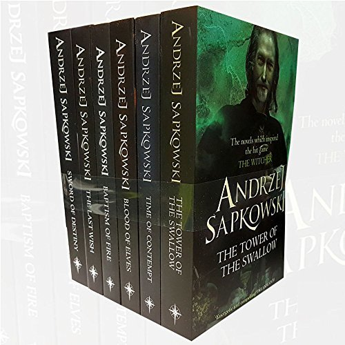 The Tower of the Swallow / Time of Contempt / Blood of Elves / Baptism of Fire / The Last Wish / Sword of Destiny (The Witcher #1-6)