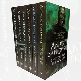 Witcher Series Andrzej Sapkowski Collection 6 Books Bundle With Gift Journal