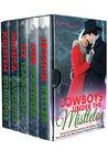 Cowboys Under the Mistletoe: Five Christmas Christian Romance Novellas (Rejoice Romance)