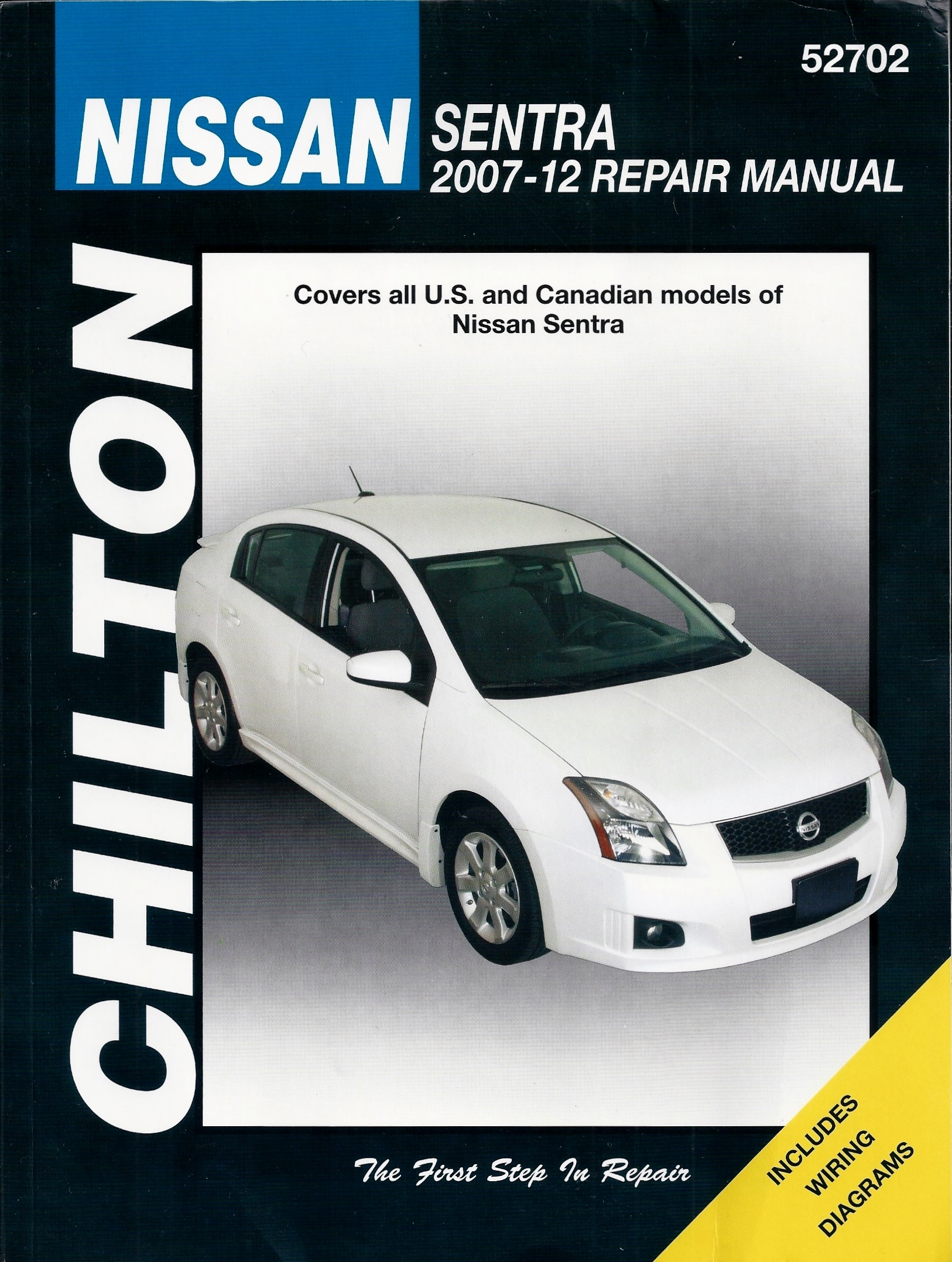 Chilton's 2007-12 Nissan Sentra Repair Manual