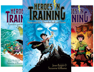Heroes in Training (12 Book Series)