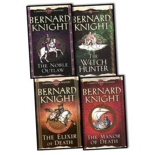 Bernard Knight Crowner John Mystery 4 Books Collection Pack Set