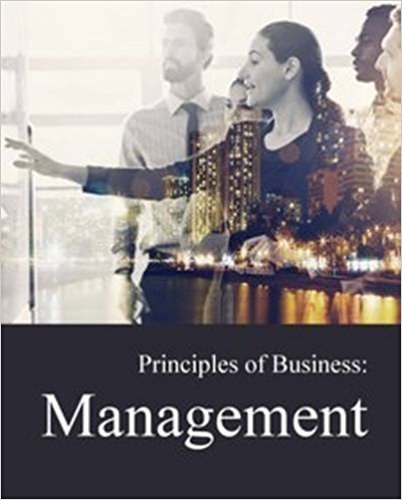 Principles of Business: Management