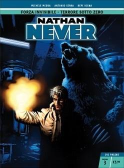 Nathan Never n. 3: Forza invisibile - Terrore sotto zero