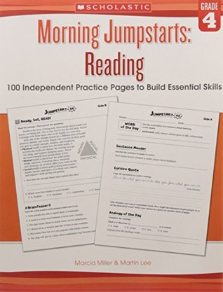 Morning Jumpstarts: Reading Grade 4 [Paperback] [Jan 01, 2017] R.L.STINE