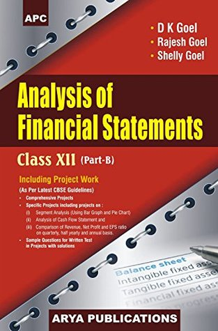Analysis of Financial Statements Class XII, Part-B