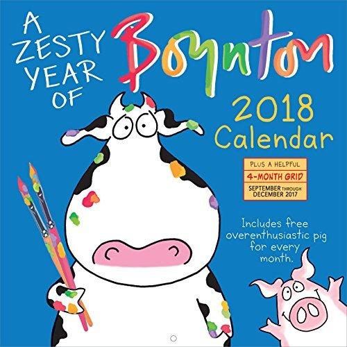 A Zesty Year of Boynton Wall Calendar 2018