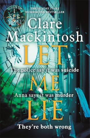 Image result for Let Me Lie by Clare Mackintosh cover