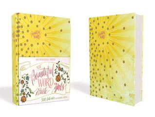 NIV Beautiful Word Bible for Girls: 500 Full-Color Illustrated Verses