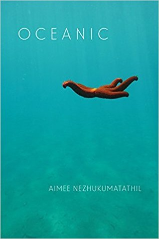 book cover showing a squid in the ocean