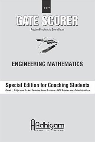 GATE Scorer Engineering Mathematics (EE 2) (GATE Electrical Engineering 11 Books Set)