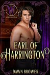 Earl of Harrington  (Bluestockings Defying Rogues 1)