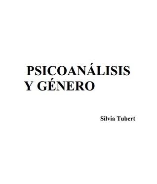 Psicoanálisis y género