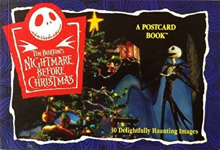 Tim Burton's Nightmare Before Christmas: A Postcard Book
