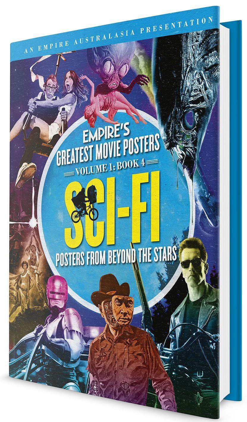 Empire's Greatest Movie Posters: Volume 1: Book 4 Sci-Fi (Empires #1:4)